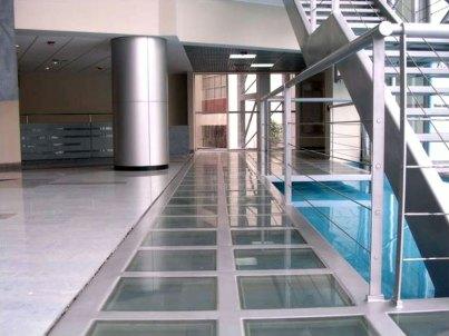 Universidad de Lima   Detalle vestíbulo