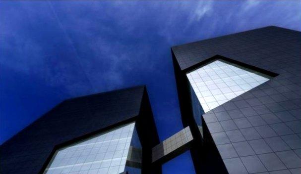 Torre Cincuentenario Universidad de Lima   Detalle fachada