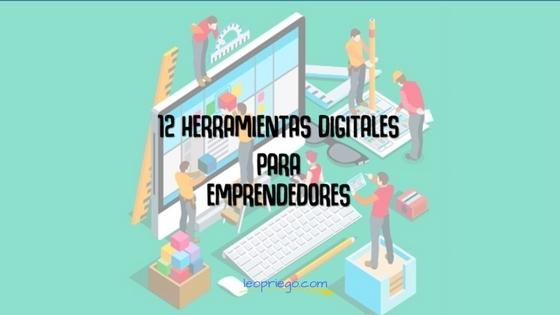 12 Herramientas digitales para emprendedores