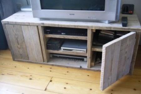 Idée Meuble Maison » boekenkast steigerhout tekening