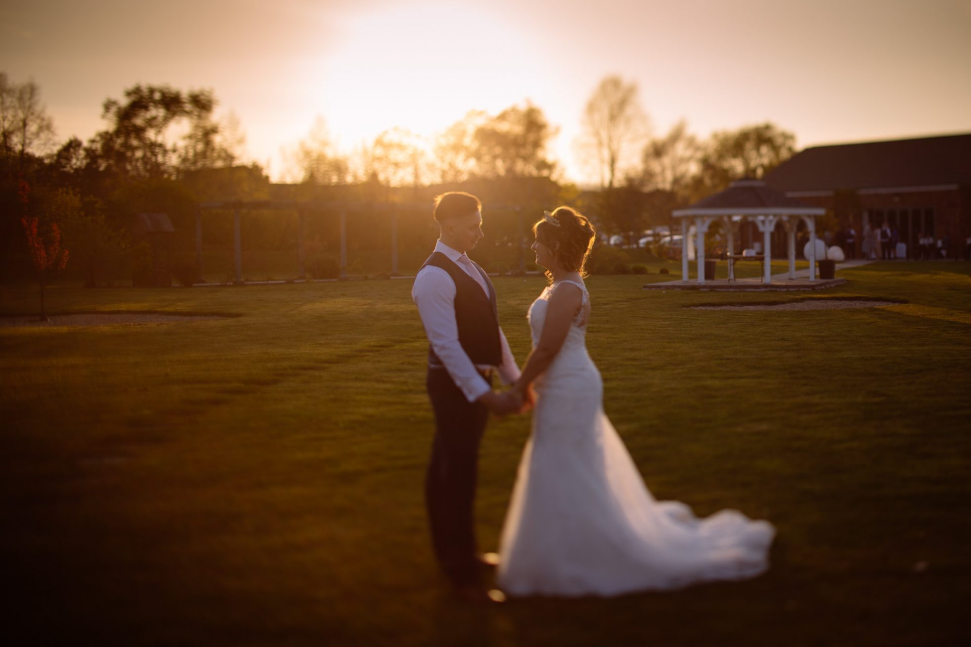 Beckey and Lee Brackenborough Hotel Wedding