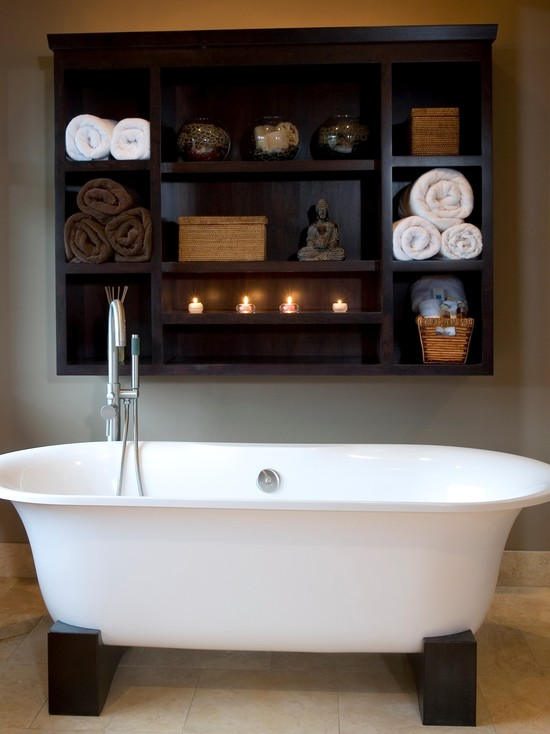 Balinese Influenced Bath (Portland)