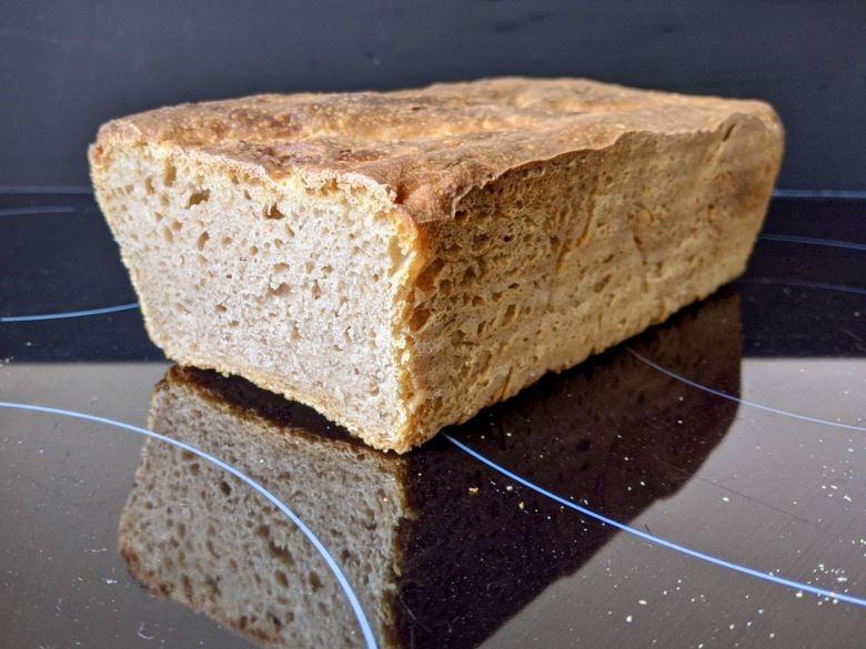 pain maison affaissé