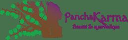 Le logo du Panchakarma en dégradé