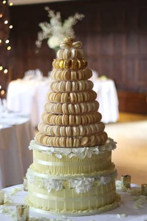 French Macaroon Tower Le Papillon Patisserie