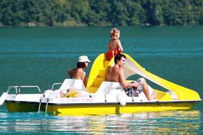 vacances nature dans l'Ariège et faire des activités sur le Lac de Montbel