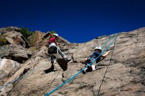vacances nature et sports extrême, de l'escalade pour tout niveaux