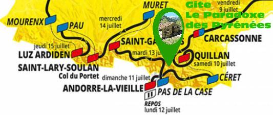 Gite Tour France