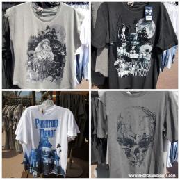 t shirt Phantom manor merchandising haunted mansion disneyland paris