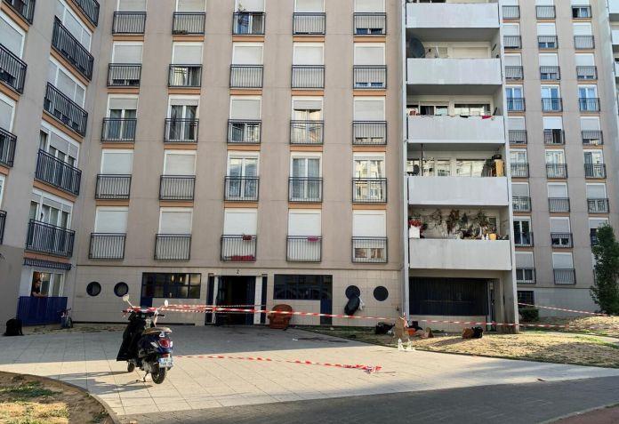 La fusillade à la cité Soubise de Saint-Ouen (Seine-Saint-Denis) dans la nuit du 14 au 15 septembre 2020 a fait deux morts et un blessé. LP/Matthieu Turel