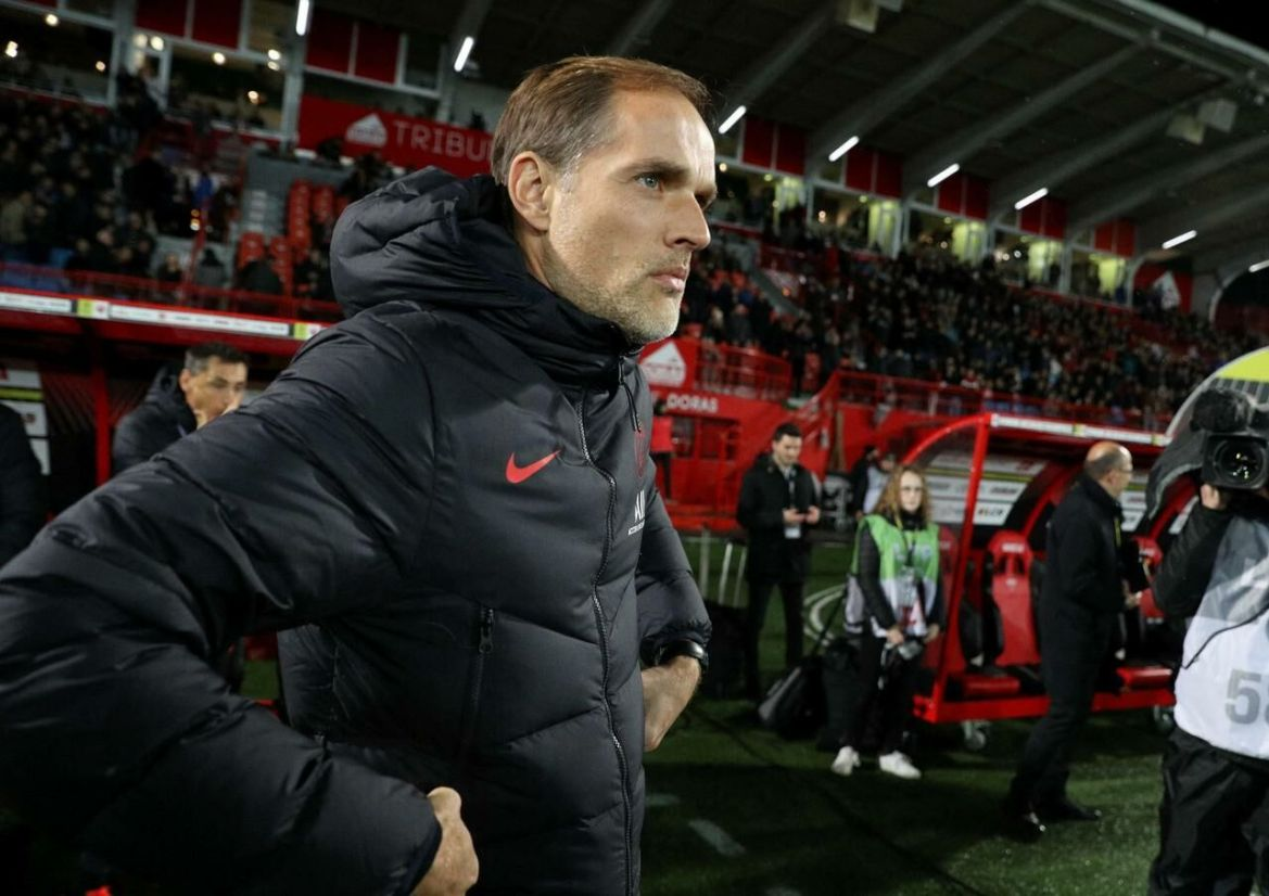 Thomas Tuchel was not always convincing in his choices during his second year on the bench./ LP / Arnaud Journois