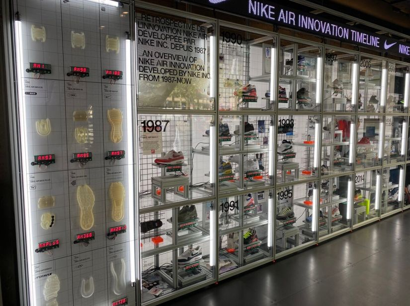 Nike inaugurates its department store of the future on the Champs-Élysées