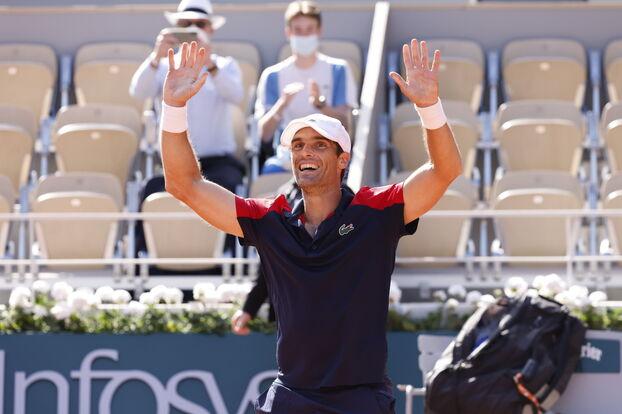 Roland-Garros: aux yeux du Parisien, les plus belles photos du premier jour