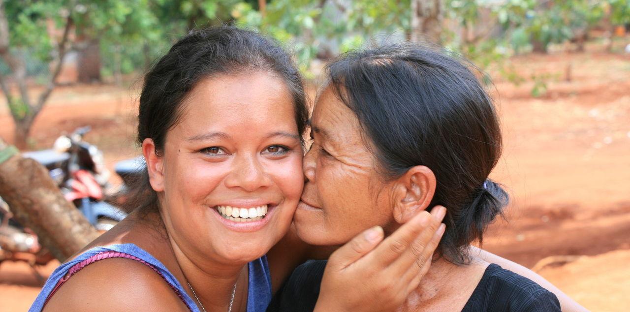 Jade, née le 1er octobre 1992, a retrouvé sa mère biologique au Viêt Nam. DR