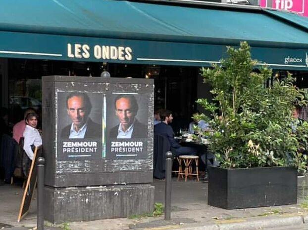 «Zemmour président» : qui colle des affiches à l'effigie de l'éditorialiste de CNews ?