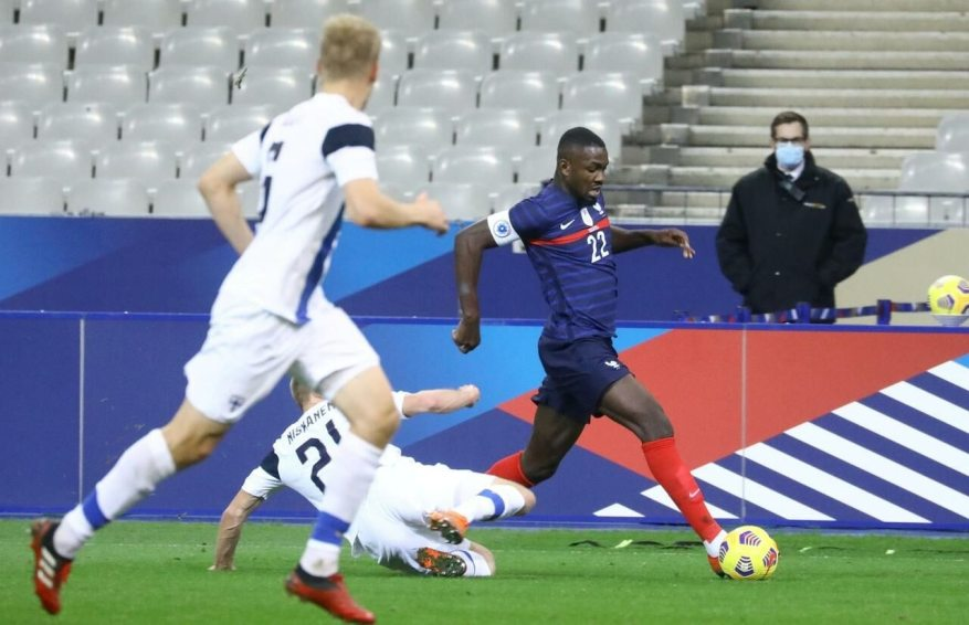 Marcus Thuram was amazing against Finland./LP / Frédéric Dugit