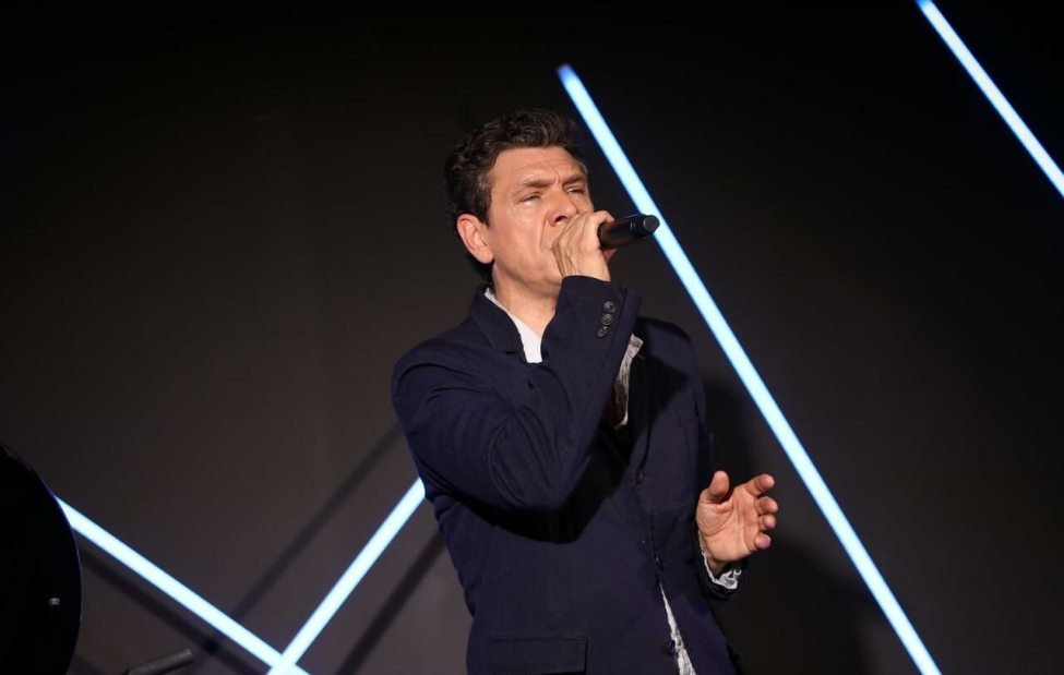 Marc Lavoine will be in concert at Blanc-Mesnil (Seine-Saint-Denis) on October 9.  LP / Guillaume Georges