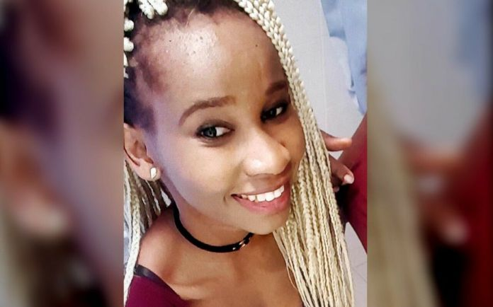 Cintia Lunimbu a reçu de violents coups de poing, avant d'être égorgée. DR