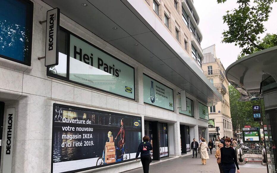 Paris Pour Louverture Dikea à La Madeleine 120 Postes à