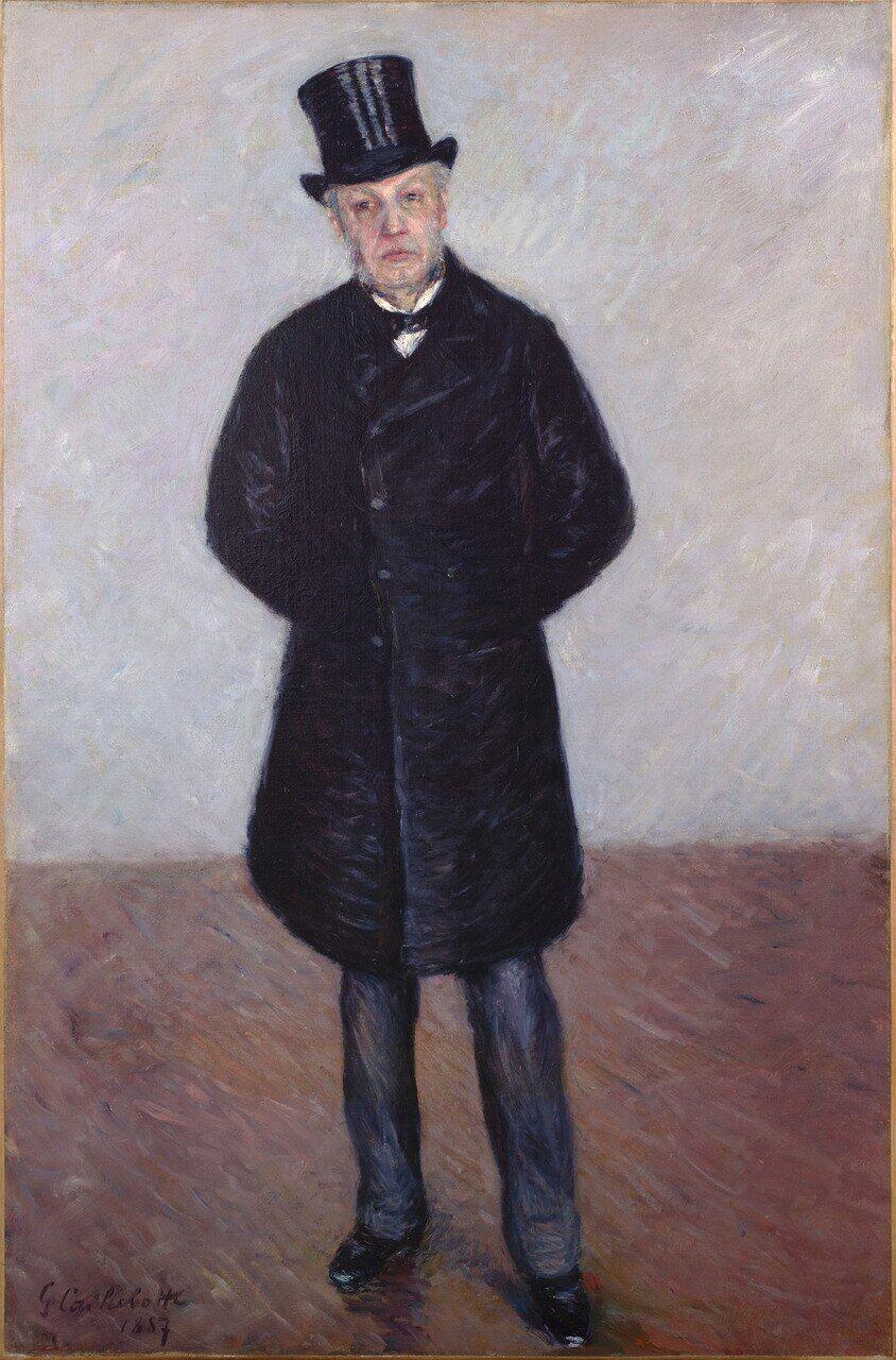 Cette huile sur toile de Gustave Caillebotte représente l'arrière-grand-père de la donatrice : Jean Daurelle, qui fut le majordome du peintre.RMN-Grand Palais (musée d'Orsay)/Patrice Schmidt