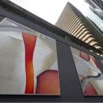Une peinture de 216m² de Guillaume Bottazzi à La Défense