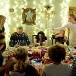Le repas de Noël familial typique…