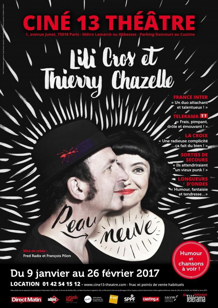 "Lili Cros & Thierry Chazelle font ""Peau Neuve"""