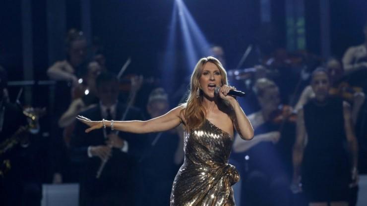Céline Dion sur scène