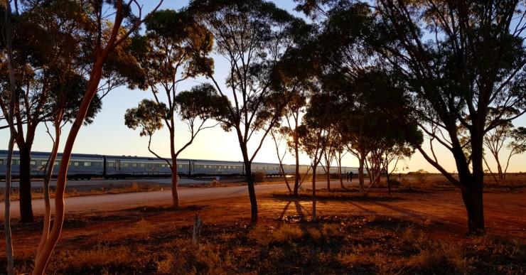 Levé de soleil en Australie