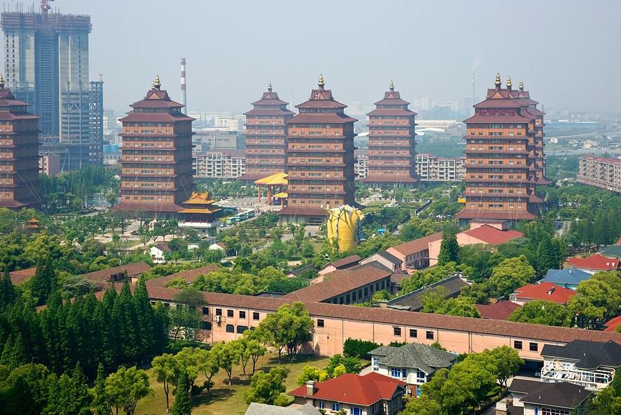 Huaxi, Jiangsu, China.