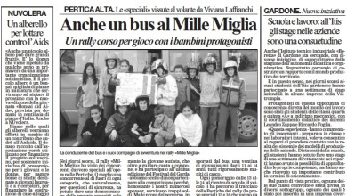 Photo of Anche un bus al Mille Miglia