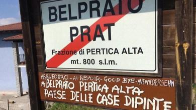 Photo of Belprato paese dipinto, la fantasia al potere