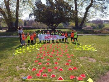 Les élèves de maternelle se préparent pour l'Euro