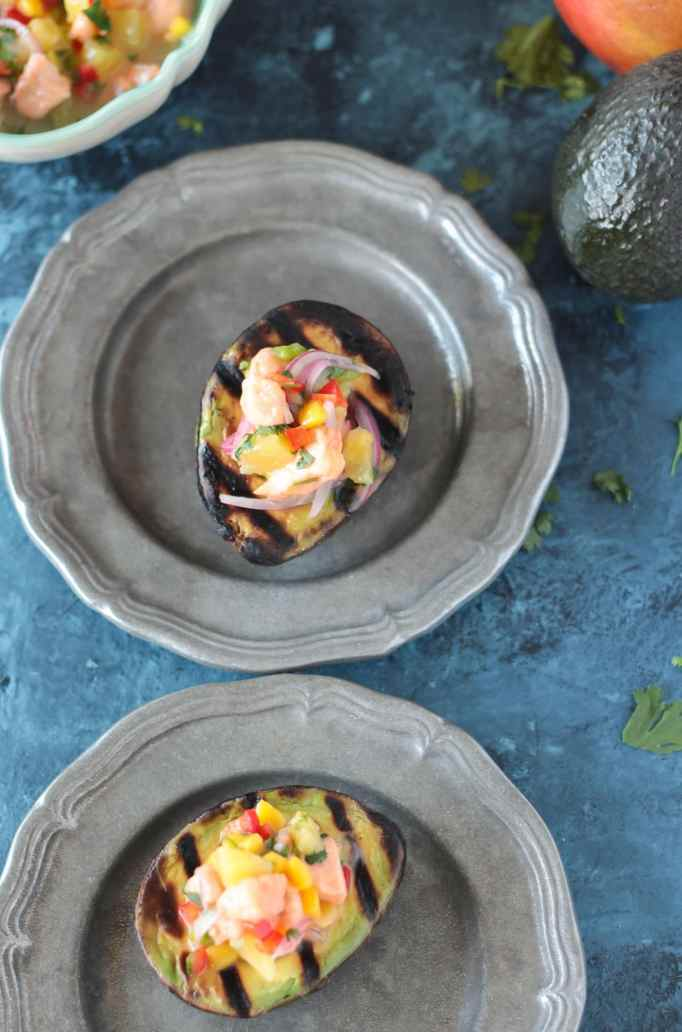 Tropical Salmon Ceviche