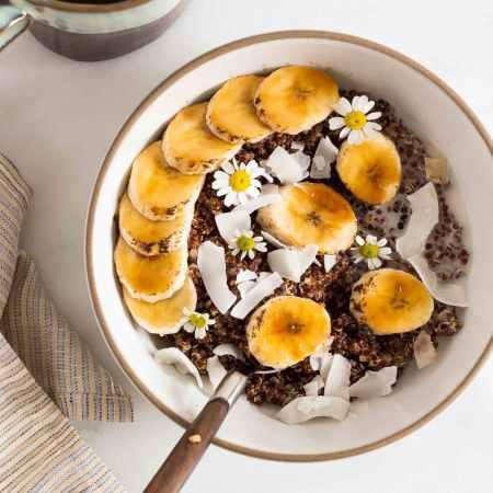 Chamomile Quinoa Porridge