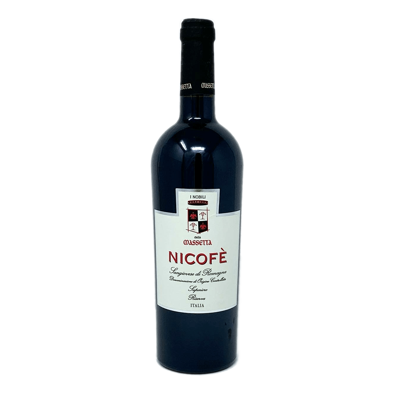 NICOFÈ Sangiovese Superiore Riserva D.O.C. I Nobili della Massetta - prodotti tipici romagnoli