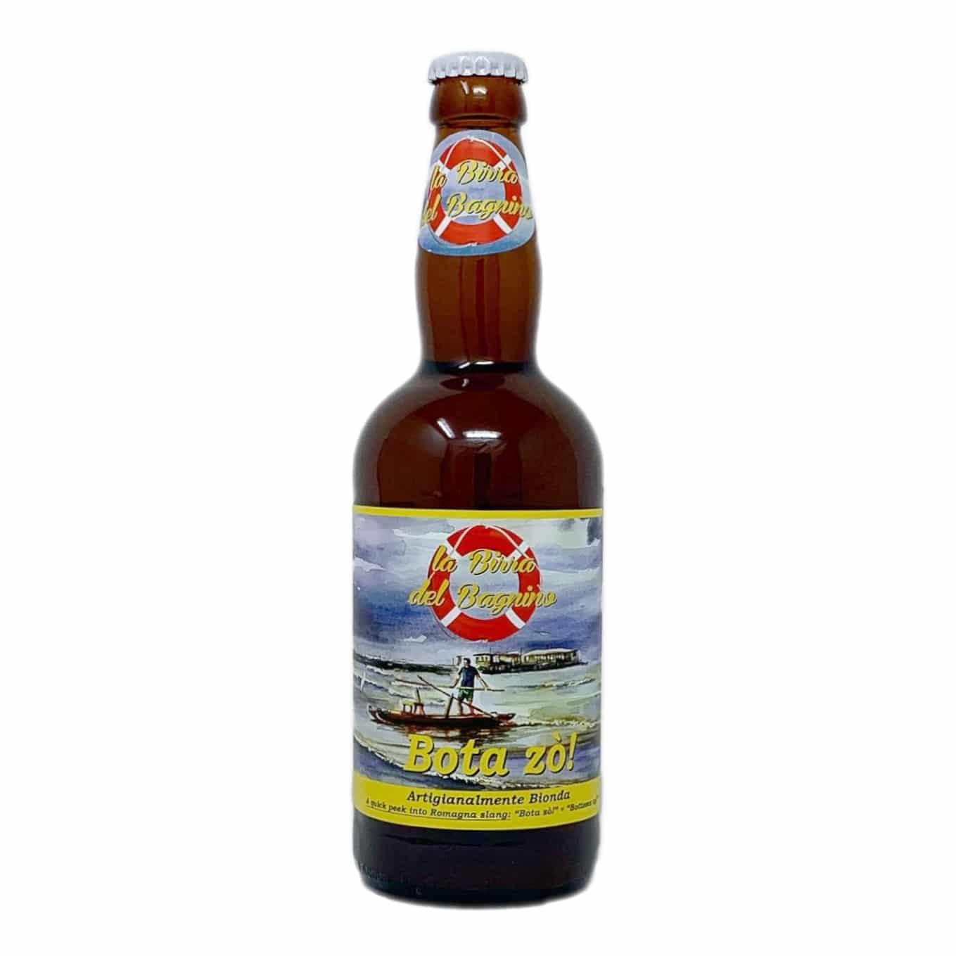 BOTA ZÒ! Birra Artigianale Bionda Pale Ale 50 CL La Birra Del Bagnino