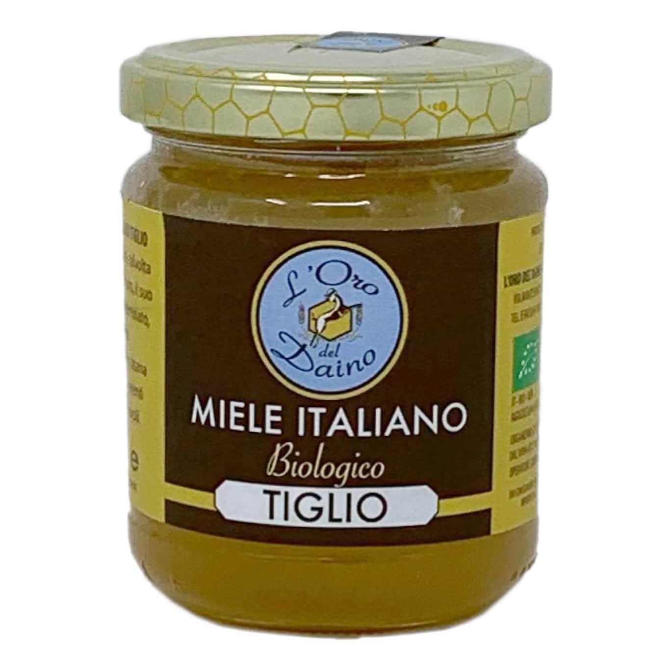 MIELE DI TIGLIO BIO 250GR L'Oro Del Daino