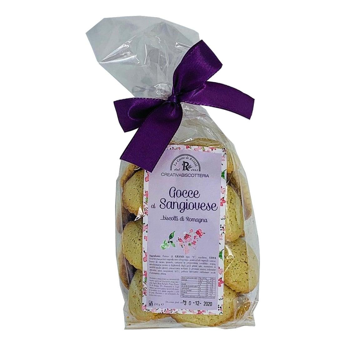 GOCCE DI SANGIOVESE Biscotti Artigianali La Corte Di Raffaello Rossi