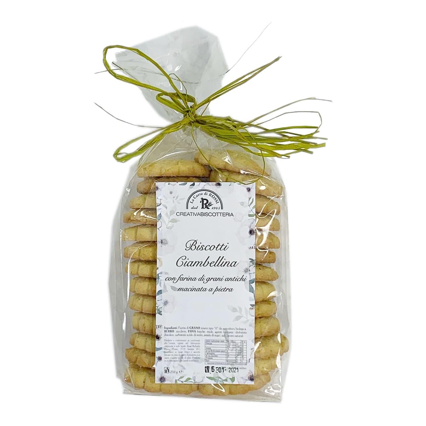 BISCOTTI CIAMBELLINA Artigianali La Corte di Raffaello Rossi - prodotti tipici romagnoli