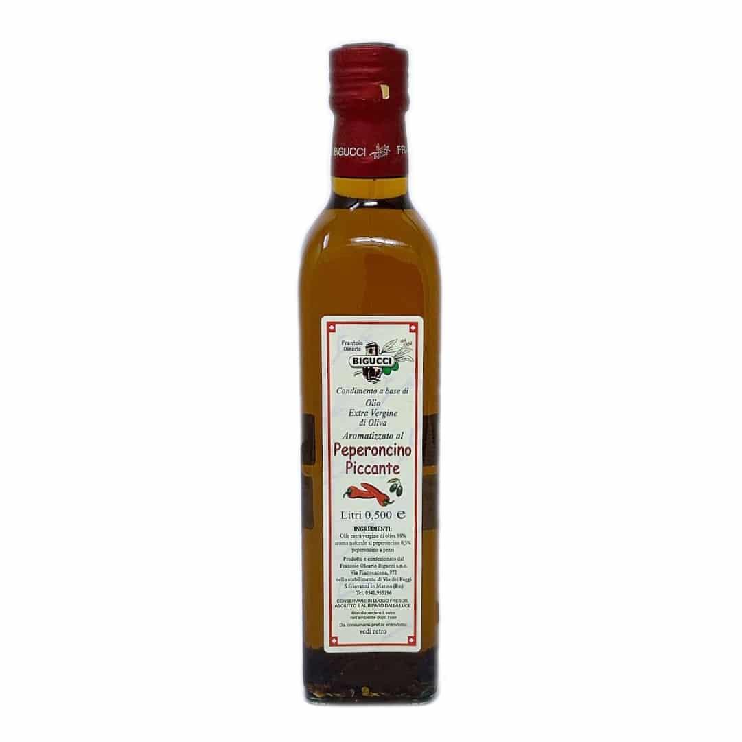 CONDIMENTO Al Peperoncino Piccante In Olio Extravergine D'oliva 50 Cl BIGUCCI