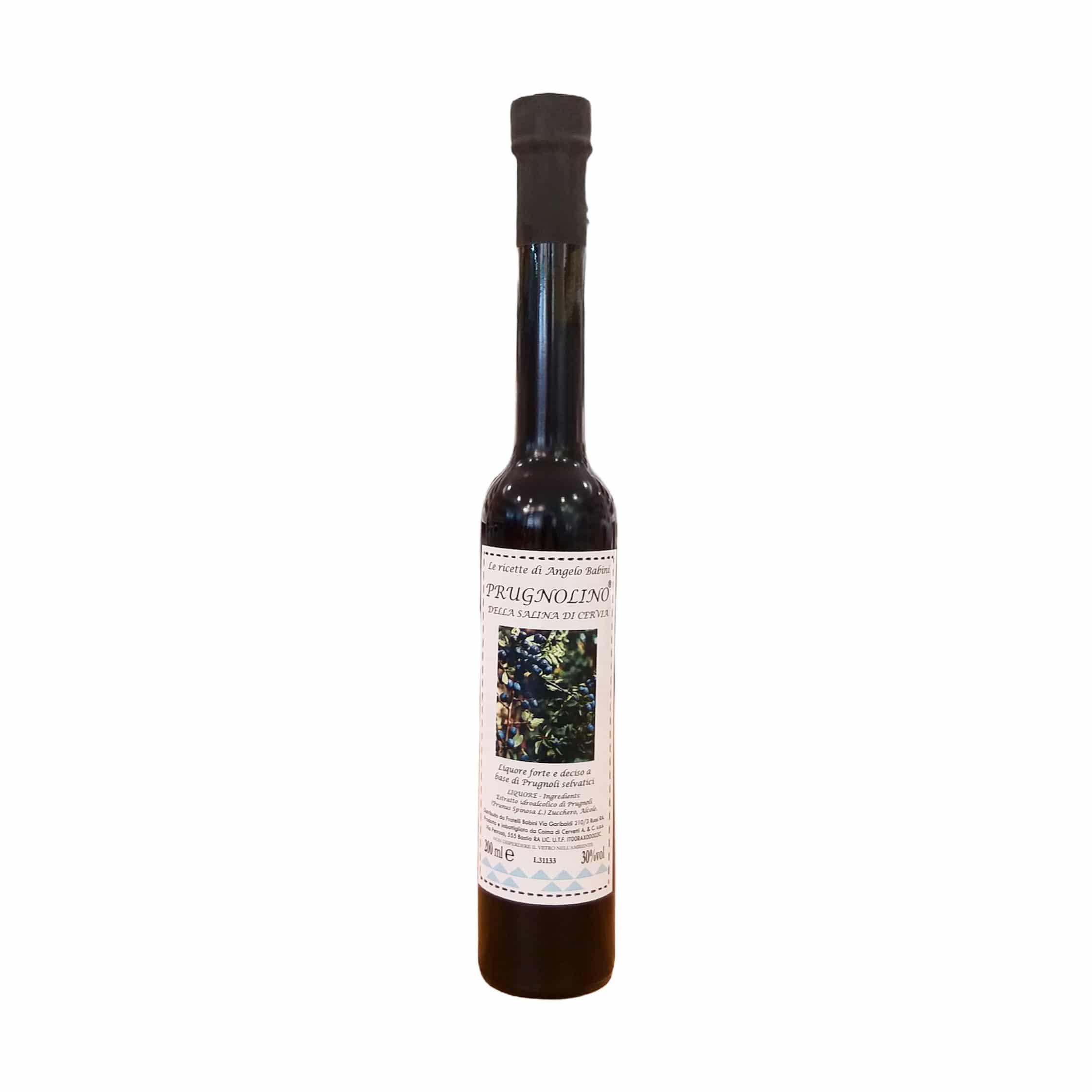 PRUGNOLINO DELLA SALINA DI CERVIA 200ml Fratelli Babini - prodotti tipici romagnoli