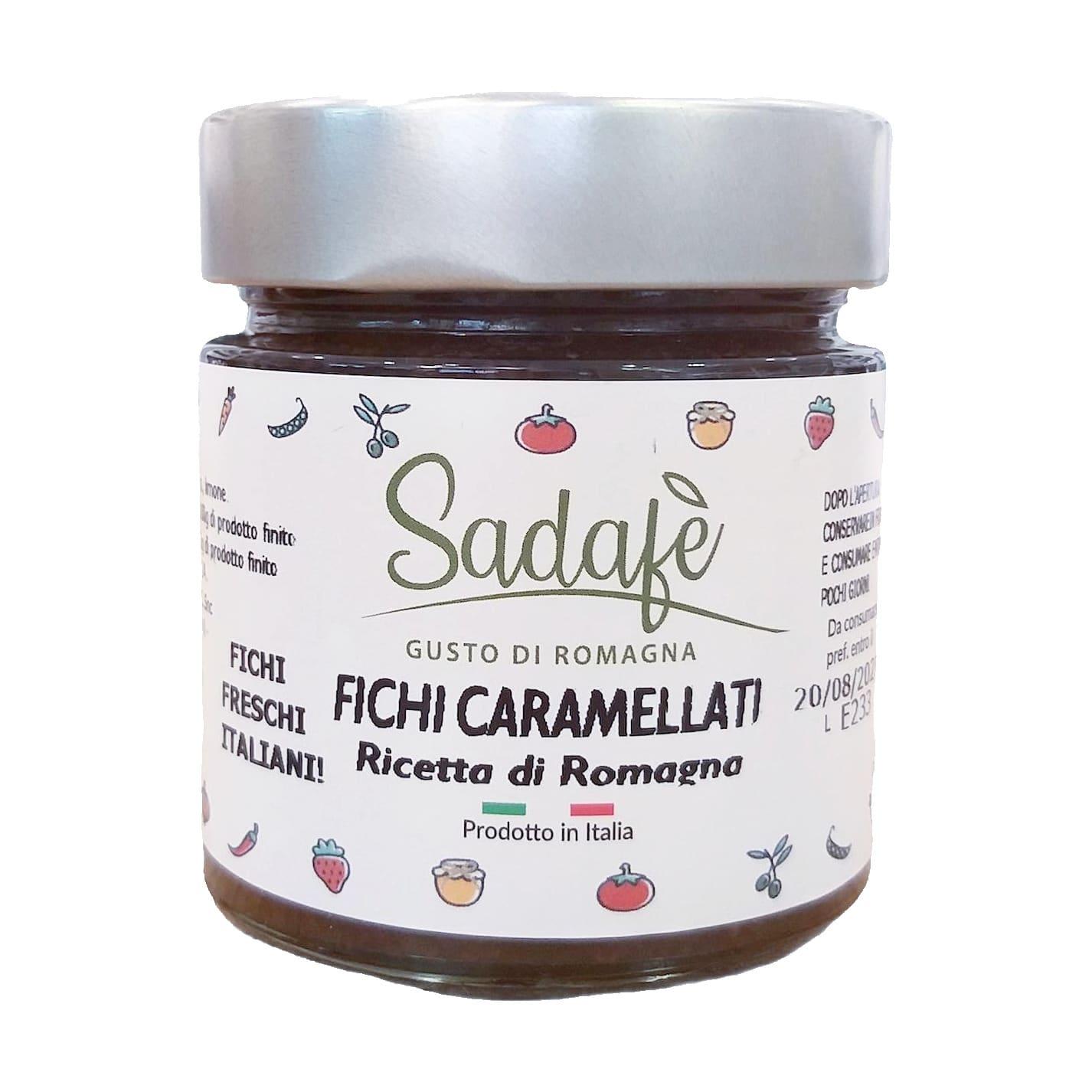 FICHI CARAMELLATI Sadafè - prodotti tipici romagnoli