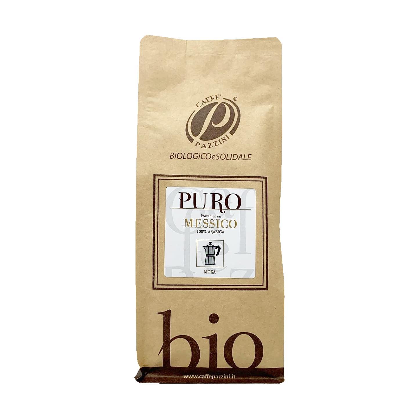 CAFFÈ PURO MESSICO 100% ARABICA BIO 250G Caffè Pazzini