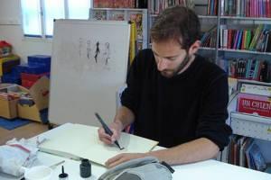 Laurent Bonneau, dessinateur et scénariste de BD