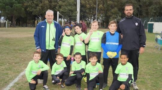 Pia : Mathieu goal, Nataél, Kalil, Mathis, Mehdi, Leny, Stalisnas, David et Nabil