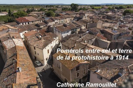 Pomérols vu du ciel Couverture du livre de Catherine Ramouillet