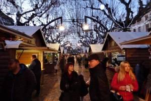 Le marché de Noël a débuté vendredi