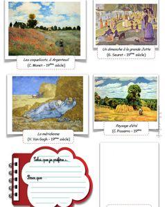 Quatre saisons...vues par les peintres
