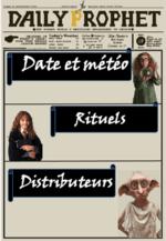 L'école des sorciers 2016 / 2017